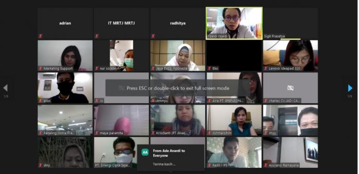 img - Socialization of the Use of PT MRT Jakarta's Procurement System